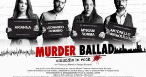 MURDER BALLAD PER LA PRIMA VOLTA IN ITALIA