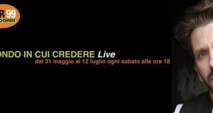 """LUCA NOTARI A RADIO RTR 99: """"UN MONDO IN CUI CREDERE – LIVE"""""""