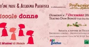 """PLATANIA E D'AMORE OSPITI D'ECCEZIONE IN """"PICCOLE DONNE – UN MUSICAL A NATALE"""""""