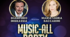 "AL BRANCACCIO INGRASSIA E BACCARINI PRESENTANO ""MUSIC-ALL PARTY"""