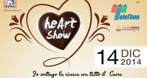 """HeART SHOW: EVENTO A """"PORTA DI ROMA"""" PER TELETHON"""