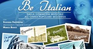 """FRATEPIETRO: CON """"BE ITALIAN"""" SI CONCLUDE LA RASSEGNA MUSICALmente AL GOLDEN"""