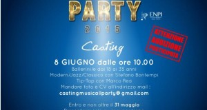 AUDIZIONI BALLERINI MUSIC-ALL PARTY