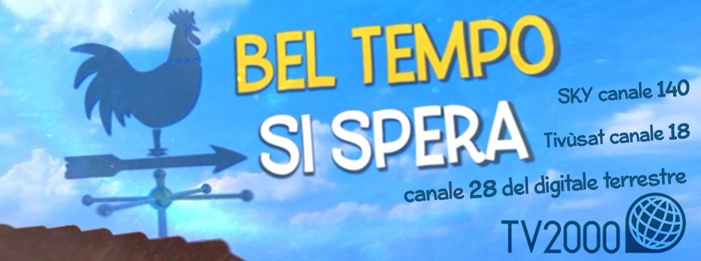 Manuel Frattini a Bel tempo si spera su TV2000