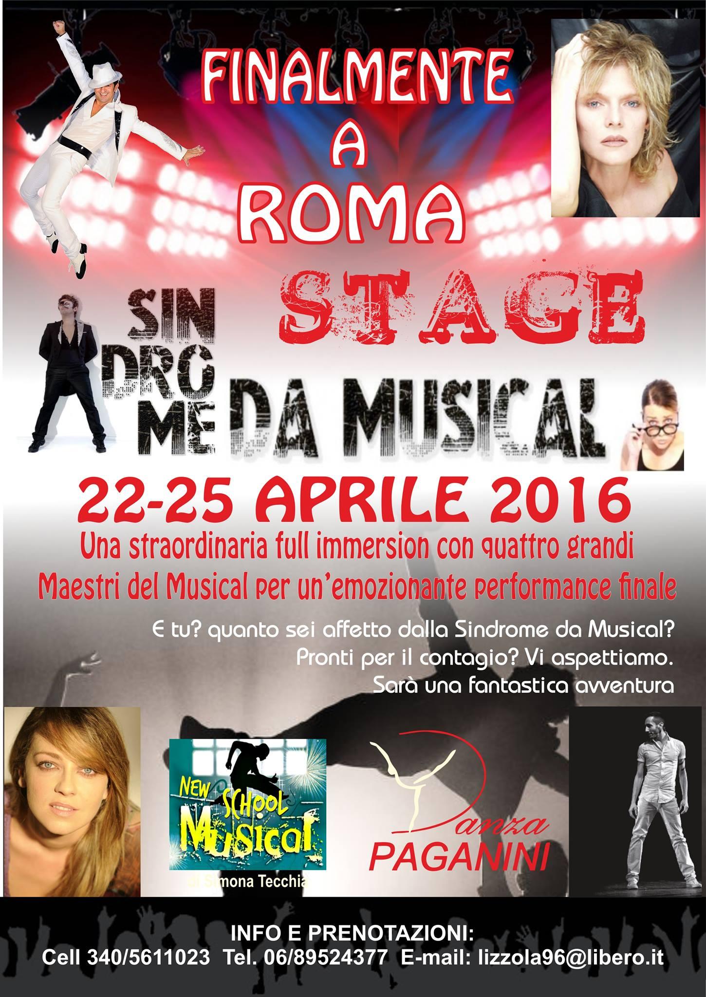 Stage Sindrome da Musical