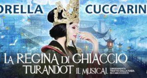 """È PIETRO PIGNATELLI IL CALAF DE """"LA REGINA DI GHIACCIO-TURANDOT IL MUSICAL"""" CON LORELLA CUCCARINI"""