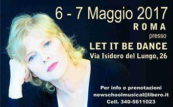 STAGE DI CANTO E TECNICA VOCALE CON LENA BIOLCATI ALLA NEW SCHOOL MUSICAL