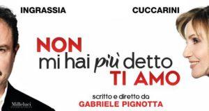 """LORELLA CUCCARINI E GIAMPIERO INGRASSIA: DEBUTTA """"NON MI HAI PIÙ DETTO TI AMO"""". LE PRIME DATE"""