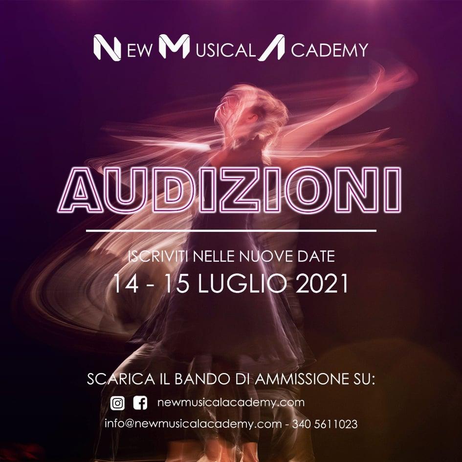 NEW MUSICAL ACADEMY, LA NUOVA ACCADEMIA DI MUSICAL A ROMA: LE AUDIZIONI