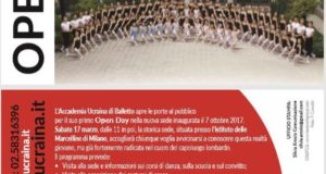 OPEN DAY ACCADEMIA UCRAINA DI BALLETTO