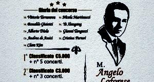 """1° CONCORSO INTERNAZIONALE DI CANTO LIRICO """"ANGELO LOFORESE"""""""