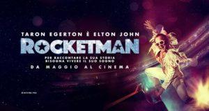 TARON EGERTON È ELTON JOHN NEL FILM ROCKETMAN