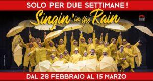 """""""SINGIN' IN THE RAIN"""" TORNA A MILANO AL TEATRO NAZIONALE CHEBANCA! A COPRIRE UNA PARTE DELLE DATE DI """"MARY POPPINS"""""""