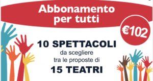 """ROMA: """"ABBONAMENTO PER TUTTI"""". ECCO I 15 TEATRI CHE ADERISCONO ALL'INIZIATIVA"""