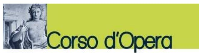CORSO D'OPERA