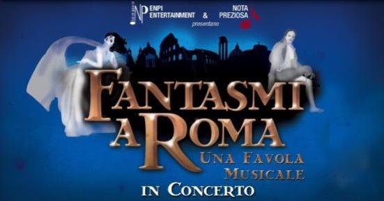 """TORNA """"FANTASMI A ROMA""""! IN PARTENZA UN TOUR IN VERSIONE CONCERTO CON TRE NARRATORI D'ECCEZIONE: INGRASSIA, TOGNAZZI E JANNUZZO"""