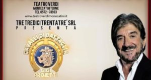 """SU RAI1 GIGI PROIETTI E I SUOI """"CAVALLI DI BATTAGLIA"""""""