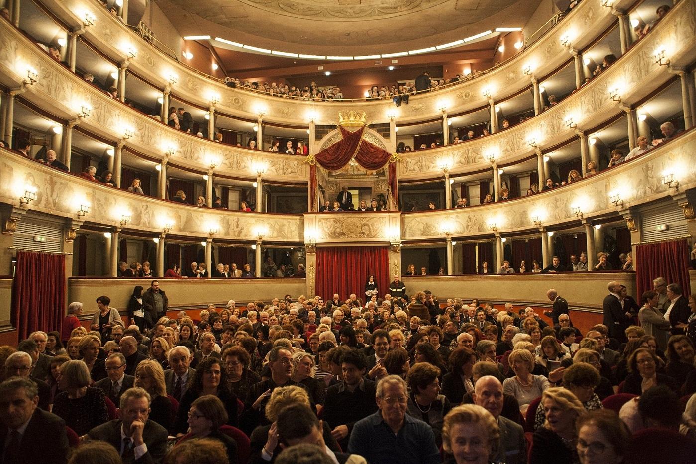 Concerto Carreras, pubblico in sala (foto Lorenzo Breschi)