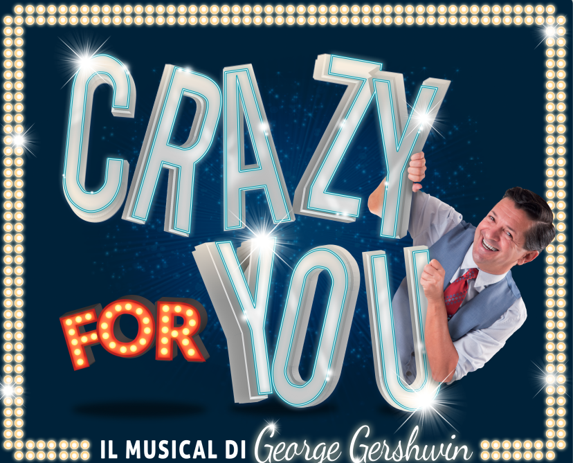 Manuel Frattini in Crazy for you al Duse di Bologna
