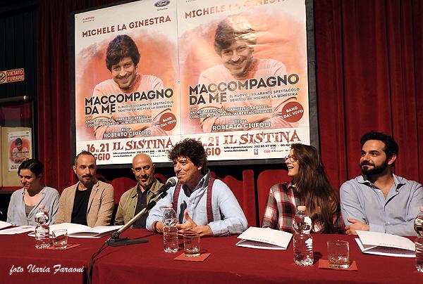 Alberta Cipriani, Andrea Perrozzi, Roberto Ciufoli, Michele La Ginestra, Ludovica Di Donato, Gabriele Carbotti