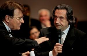 Etta Limiti 2014_03_Paolo Limiti col Maestro Riccardo Muti alla finale della scorsa edizione