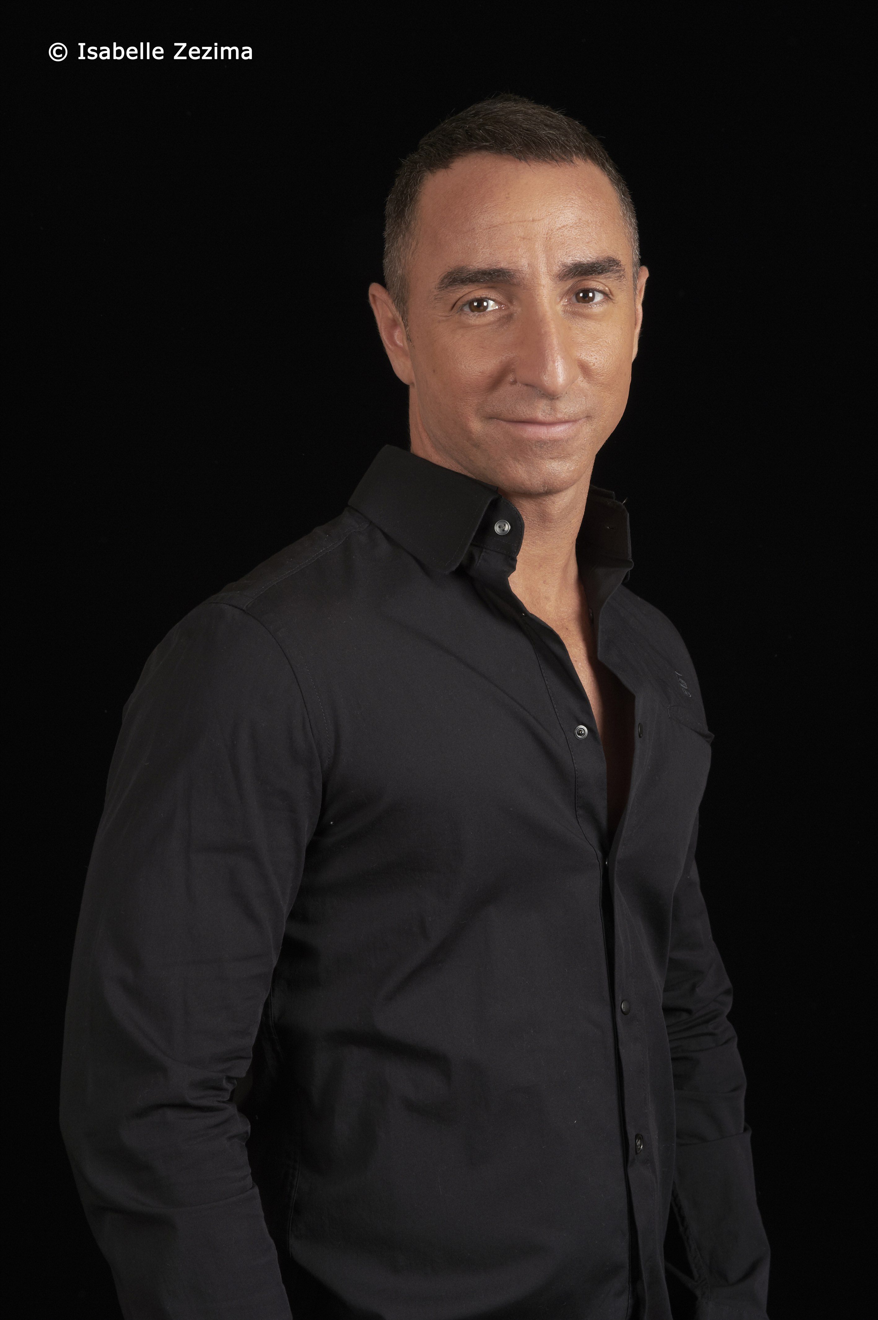 Portrait Presse pour Giuliano Peparini, danseur, chorégraphe et metteur en scène.