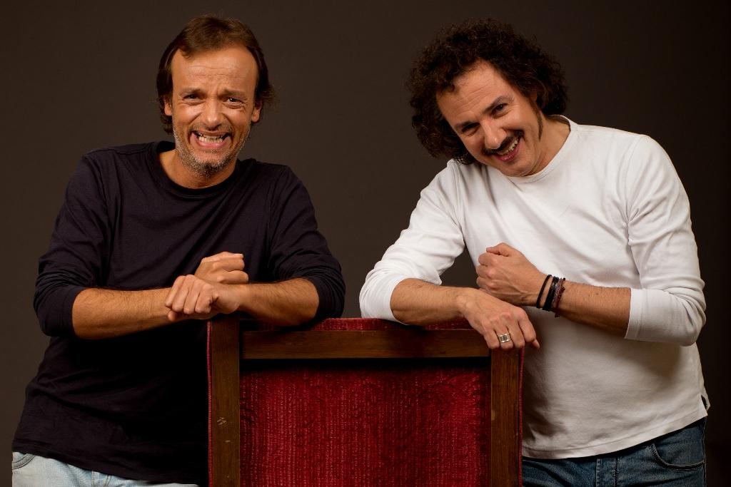 Gianluca Guidi e Giampiero Ingrassia
