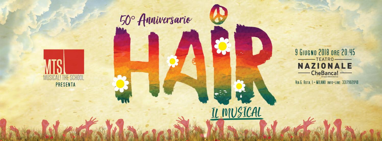 """HAIR"" FIRMATO MTS MUSICAL! THE SCHOOL"