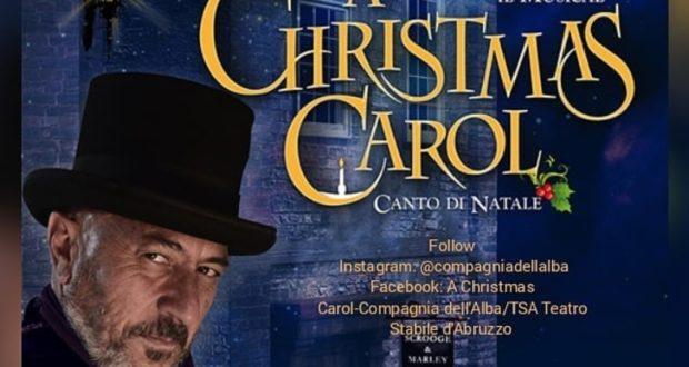 A CHRISTMAS CAROL, NELLA VERSIONE DELLA COMPAGNIA DELL'ALBA, RIPRENDE IL TOUR