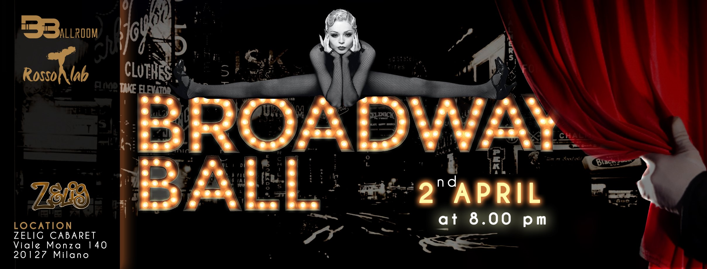 THE BROADWAY BALL @ ZELIG CABARET