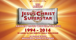 "I NEGRITA NEL CAST DI ""JESUS CHRIST SUPERSTAR"" FIRMATO PIPARO"