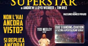 JESUS CHRIST SUPERSTAR AL SISTINA: REPLICHE STRAORDINARIE A GIUGNO