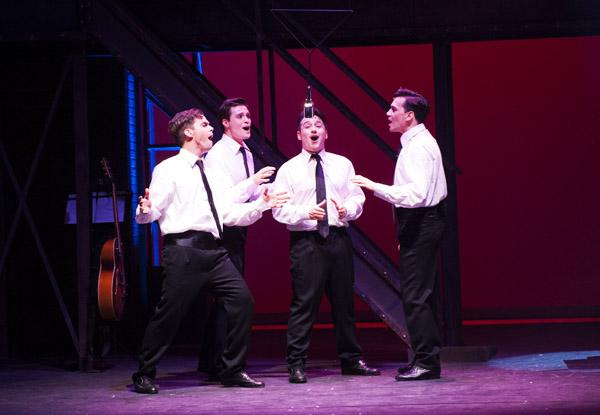 Jersey Boys teatro 2
