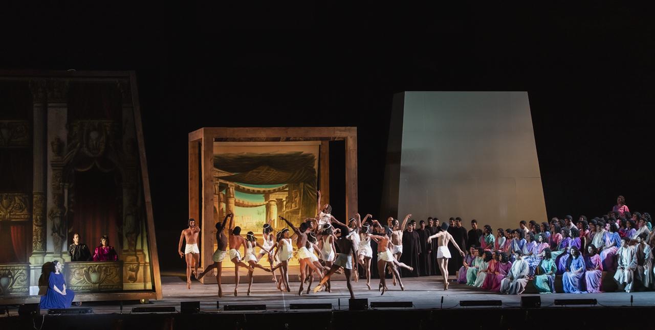 L'Aida di Verdi alle Terme di Caracalla ph Yasuko Kageyama-Teatro dell'Opera di RomaCaracalla