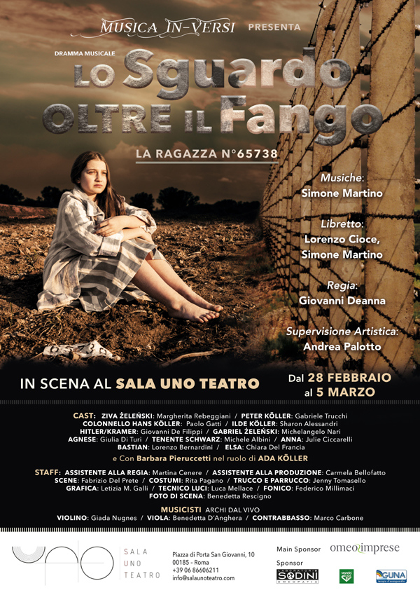 """""""LO SGUARDO OLTRE IL FANGO - DRAMMA MUSICALE"""" DI SIMONE MARTINO"""