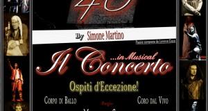 SIMONE MARTINO: 40 ANNI IN MUSICAL – IL CONCERTO. TANTI OSPITI DEL SETTORE AL TEATRO GRECO