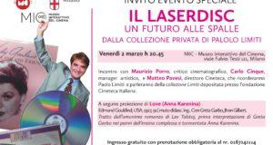 IL LASERDISC – LA COLLEZIONE DI PAOLO LIMITI AL MUSEO INTERATTIVO DEL CINEMA