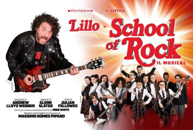 LILLO E I RAGAZZI DELL'ACCADEMIA IL SISTINA SCHOOL OF ROCK