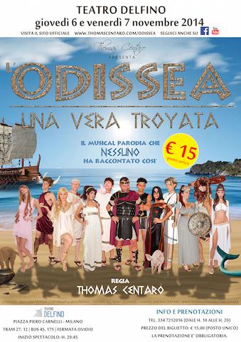 Locandina Ufficiale L'Odissea - Una vera Troyata (NOV 2014)