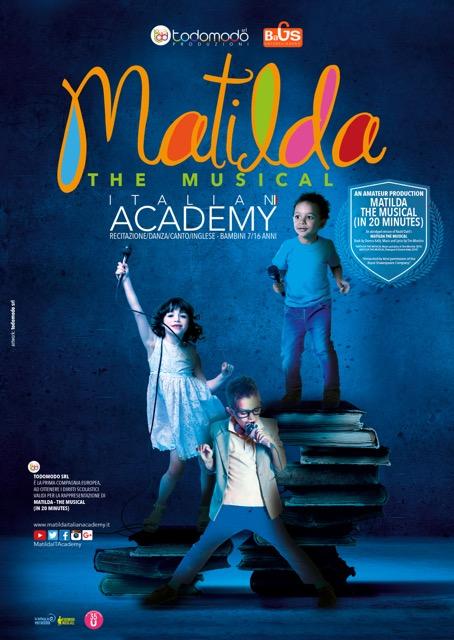 MATILDA. THE MUSICAL ITALIAN ACADEMY