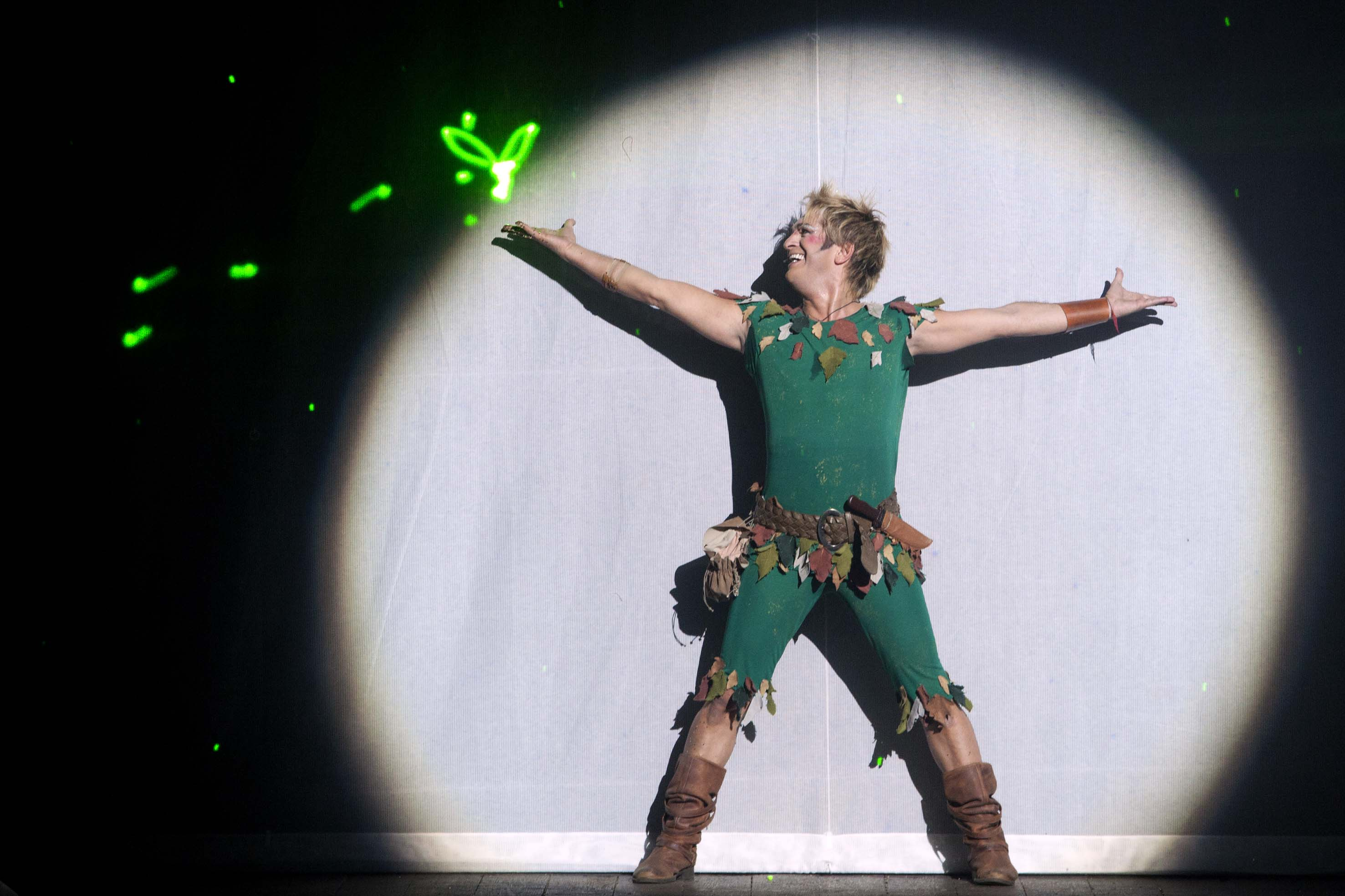 MANUEL FRATTINI E MARTHA ROSSI: PETER PAN IL MUSICAL