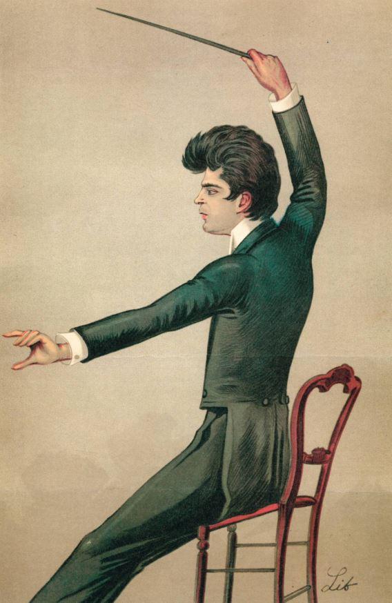 Mascagni dirige (1893, Museo Teatrale alla Scala) - rid