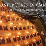 MASTERCLASS DI CANTO – DAL BAROCCO AL VERISMO