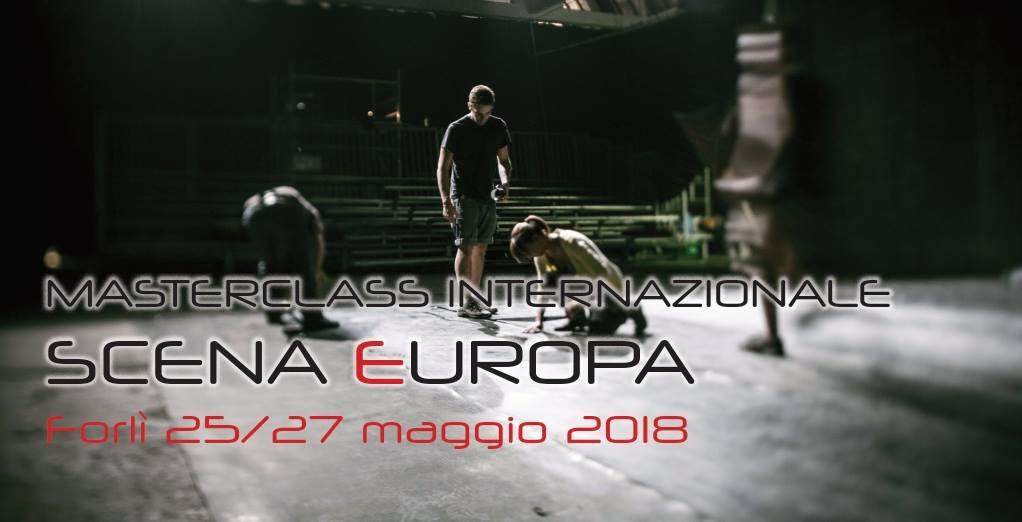 """MASTERCLASS INTERNAZIONALE """"SCENA EUROPA"""" 2018"""