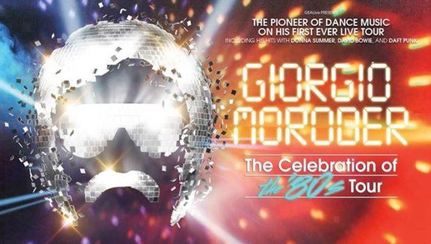 THE CELEBRATION OF THE 80'S LIVE SHOW GIORGIO MORODER