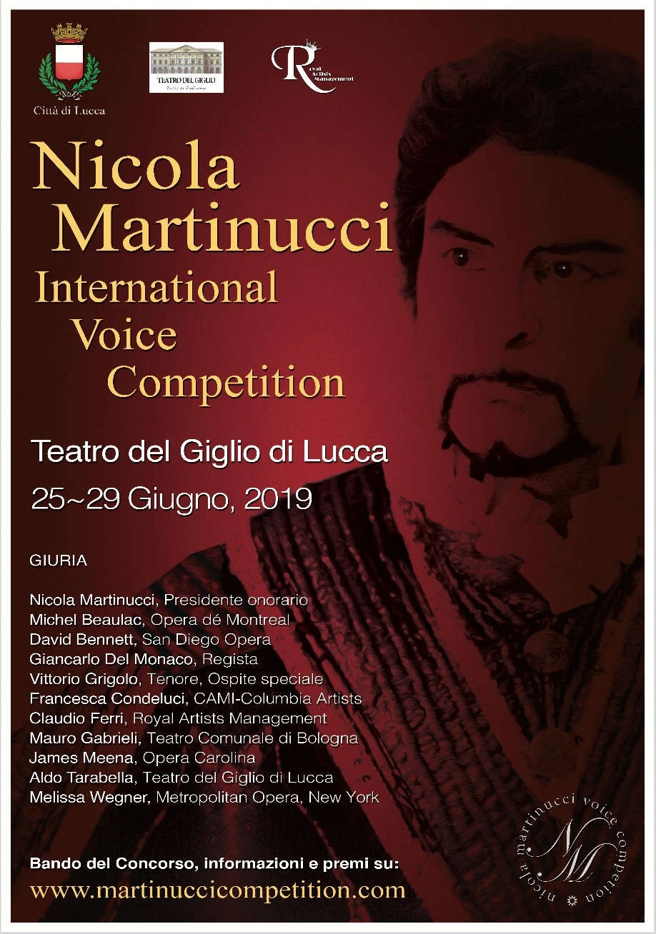 NICOLA MARTINUCCI INTERNATIONAL VOICE COMPETITION 2019