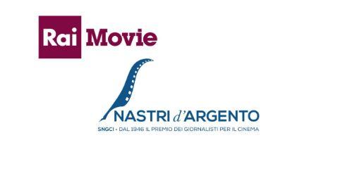 RAI MOVIE: LA DIRETTA DEI NASTRI D'ARGENTO