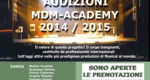 AUDIZIONI E MASTER CLASSES MDM ACADEMY