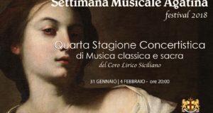 SETTIMANA MUSICALE AGATINA 2018