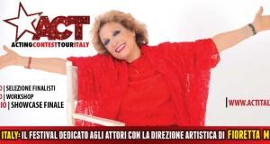 """FIORETTA MARI ED """"ACT ITALY"""": LA FASE FINALE AL PARIOLI DI ROMA"""